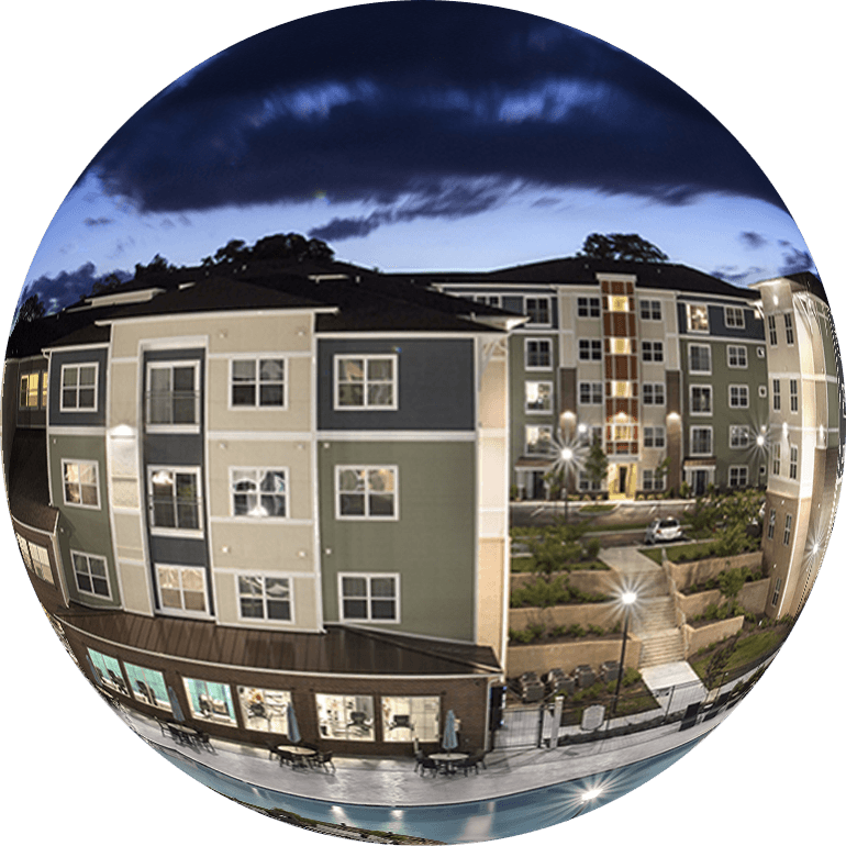 Chasewood Downs Apartments in 360º